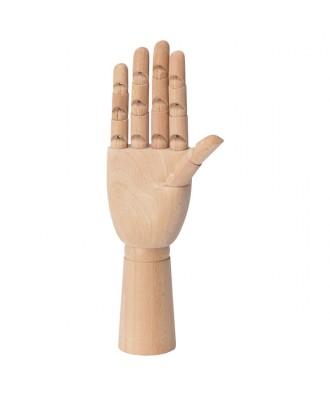 Mano de madera personalizada
