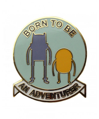 Pin Born to be an adventurer