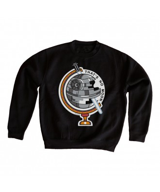 That's no Moon sweatshirt...