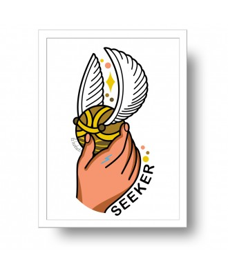 Seeker Snitch print by la...