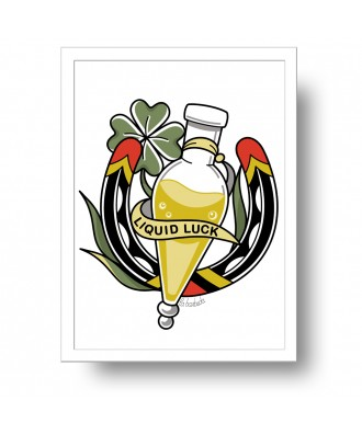 Liquid Luck Felicis print...