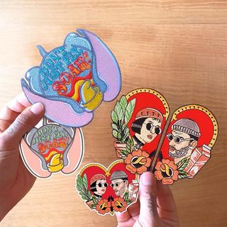 The Dumbo and Leon die cut ...