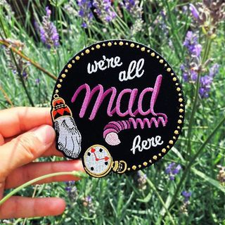 🐇 We're all mad here 💜 Whic...