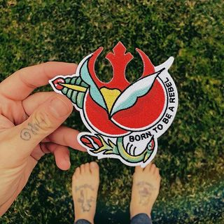 🌹 The most rebel patch of t...